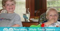 Check out these 20 nourishing, whole-foods dinners--that kids will really eat!