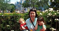 This photo was taken from our very first Grundig family vacation to Walt Disney World. Back then, I was worki