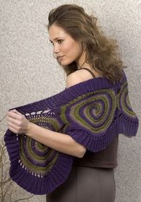 wow, crochet wrap. Freebie pattern and just delicious! Thanks for the share xox