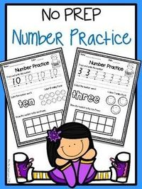 Enjoy this free set of number practice worksheets. There are 20 worksheets with each focusing on a number from 1-20. I have included both AUS and US spelling. I hope you find this useful for the new school year.Happy Teaching! Xx Laura********************...