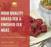How about having a meat today? Ready with the cooking ingredients?Get it delivered your favourite Bison, Wild Boar, Chicken, Elk, Lamb, Beef meat delivery at your door. Beck & Bulow provides ranch to door meat delivery service (bison, elk, wild bo...