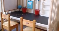 Great use for a crib that has been outgrown! #crib #upcycle #reuse