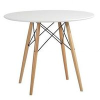 DSW Dining Table - Eames Reproduction - White