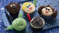 Star Wars Cupcakes recipe inspired by Star Wars