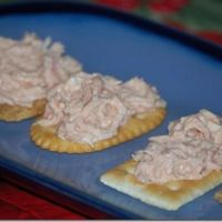 I love crab dip but when my 3 sons were growing up I couldn't afford crab. In fact, the only crab in the house was ME! I got this recipe from a friend years ago. I believe I ate the entire bowl in one sitting. The imitation crab is just a white fish t...