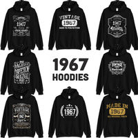 1967 Birthday Gift, Vintage Born in 1967 Hooded Sweatshirt for women men, 53rd Birthday Hoodies for her him, Made in 1967 Hoodie 53 Year Old $23.99