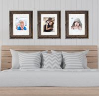 SET OF 3+ Traditional Rustic Reclaimed Wood 8 x 10 or 11 x 14 Picture Frames | rustic home decor | coastal frame | wedding frame | collage $89.00