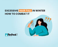 Did you know that humans shed close to a hundred strands of hair every day. However, it is much more during winters. Check our blog article to know the reason and how to combat it.