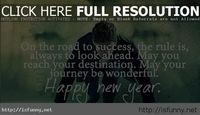 Start happy new year quote