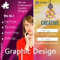 The Designxlab will prepare you to think critically and execute visual solutions across print, digital platforms and motion graphic. Call us for more details at- +1 (587)777-7530