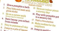 You've got to see this awesome checklist of Fall activities! You will love this Fall bucket list - so many simple and cheap ideas to make Fall memories!