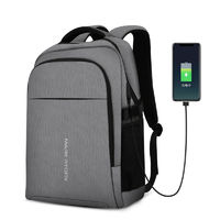 MARK RYDEN MR9191 Multifunction USB Charging 15.6 inch Laptop Backpack Three-layer Large Capacity Student Bag