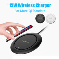 Bakeey 15W Wireless QI Fast Charger Charging Dock Stand Holder For iPhone X Xs Max XR 8