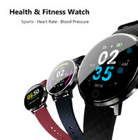 Bakeey D2 Heart Rate Blood Pressure Monitor Female Period Reminder 10 Sport Modes Smart Watch