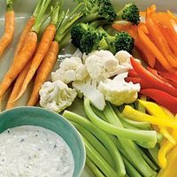 Low-Calorie Dips and Spreads | Creamy Garlic-Herb Dip | CookingLight.com
