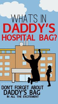 While He Was Napping: What's in Daddy's Hospital Bag? {Printable} Phone Number List