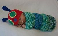 Ravelry: Snug as a bug baby caterpillar cocoon pattern by Little crochet shop
