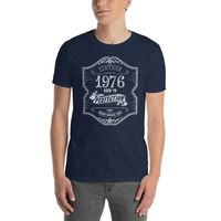 42 years old Made In Born in 1976 Birthday T-shirt $19.99