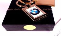 The British Gold Company 24K Gold Finished Luxury BMW Z3 Z4 2 2 3 5 7 X5 X3 Car Keyring Convertible Key Fob A beautiful and functional gold keyring. Nice weight, produced for every day use!Not to be confused with cheap goldplate or short-life goldtone eff...