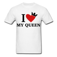 I Love My Queen (love king also available) $16.99
