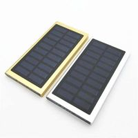 Price: $97.00 | Product: 10pc Solar Power Bank Ultra-thin Diy Shell / External Charger 20000mah | Visit our online store https://ladiesgents.ca