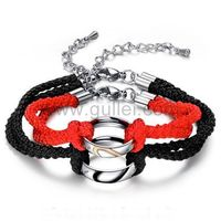 Gullei.com Custom Hearts Couple Bracelets https://www.gullei.com/couples-gift-ideas/his-and-her-bracelets.html
