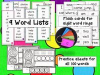 "Program, ""Sight Words That Stick"" (from Mrs Jump's Class)"