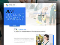 Download Jone Due Cleaning Service PSD template by Html Design. It's a well-developed PSD file suitable for any type of cleaning services business website.