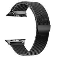 Milanese Stainless Steel mesh sport Loop strap For Apple Watch band 38mm 42mm 40mm 44mm series 4 3 2 1 $21.99