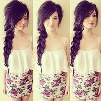 Does anyone know of any hairstyles I could use for school? pictures please!!