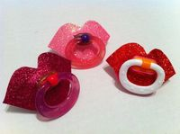 Sparkle Lips Baby Pacifier
