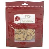 Deli Cat Treat Cod Fillet 50gm Deli Cat Treat Cod Fillets are delicious fish treats cooled in the Icelandic air to make the perfect fishy treat for your cat. Made from 100% real cod, these tasty fillet treats will create a taste se http://www.compares...