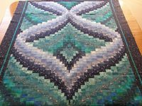 Northern Lights Landscape Quilt Pattern | Northern Lights