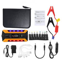 Portable LED 89800mAh Car Jump Starter Pack Booster Charger Battery Power Bank Emergency Start Power With Safety Hammer