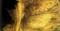 Masaaki Sasamoto - moth and butterfly queen, love the muted and hazey golden tones