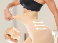 Seamless Waist Slimming Tummy Control Body Shaper-Nude at www.fashionsqueen.com