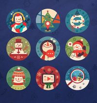 Happy New Year by eegua nan, via Behance