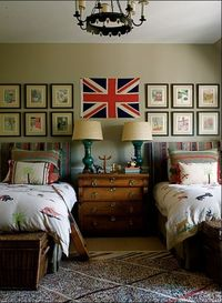 Kristen Buckingham elle decor minus the other bed, this would be amaze.
