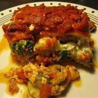 Roasted veggies are my favorite...and easy to prepare. Win-win recipe // Easy Roasted Vegetable Lasagna Allrecipes.com