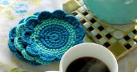 versus: jardain crochet coaster tutorial with guest rebecc...free tute and pattern!