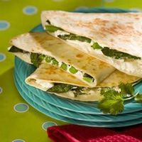Asparagus & Goat Cheese Quesadillas