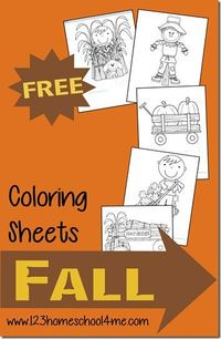 Fall Coloring Pages for fall