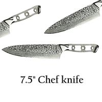 Chef Knife Blank Blade DIY Knife Making Home Hobby $43.60