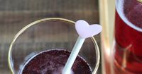 Sip it :: Berry Champagne Cocktail   Thoughtfully Simple