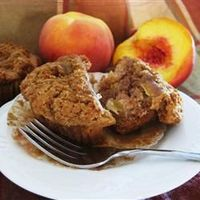 Peach Muffins Allrecipes.com