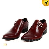 CWMALLS® New York Men Monk Strap Leather Shoes CW707502[Global Free Shipping]