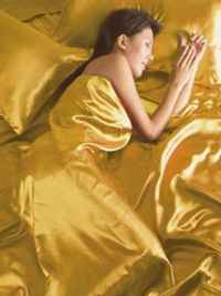 Generic Gold Satin Double Duvet Cover, Fitted Sheet and One Satin Double Size Duvet Cover. One Satin Double Size Fitted Sheet. Four Satin Pillowcases. http://www.comparestoreprices.co.uk//generic-gold-satin-double-duvet-cover-fitted-sheet-and.asp