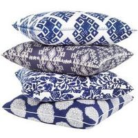 John Robshaw for throw pillows - The Willy Wonka of throw pillows...because pillows are like candy! Mosaic