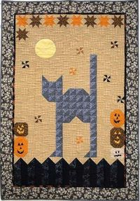 Scaredy Cat quilt pattern by Joe Wood at Thimble Creek