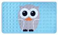 Amazon.com: Kikkerland Owl Natural Rubber High Grip Suction Cup Bath Mat: Home & Kitchen